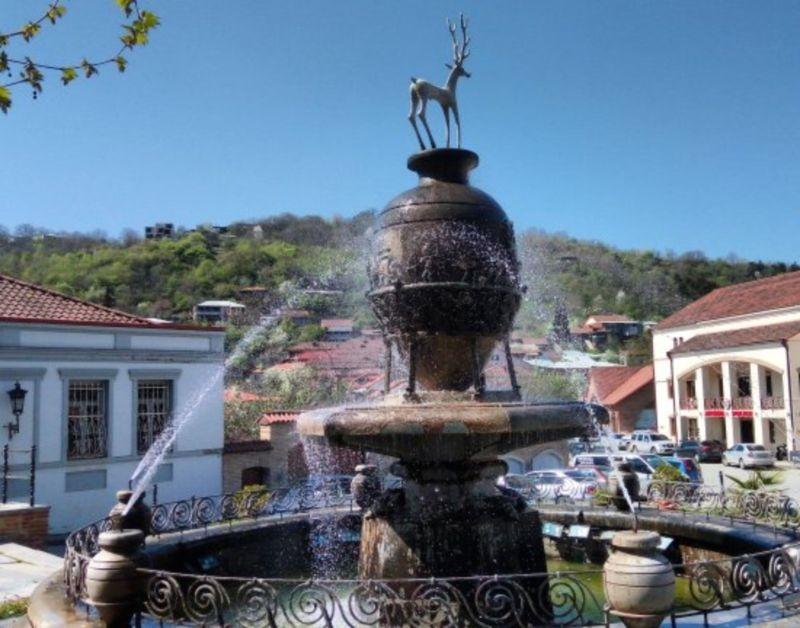 Sighnaghi Fountain