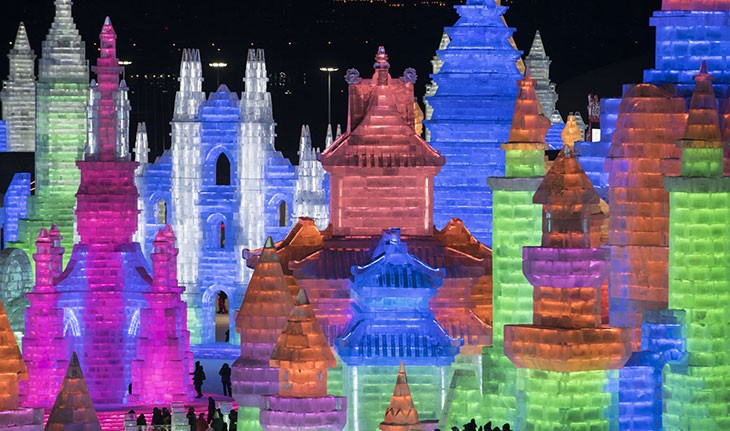 بزرگ ترین فستیوال برف و یخ 2019 در چین