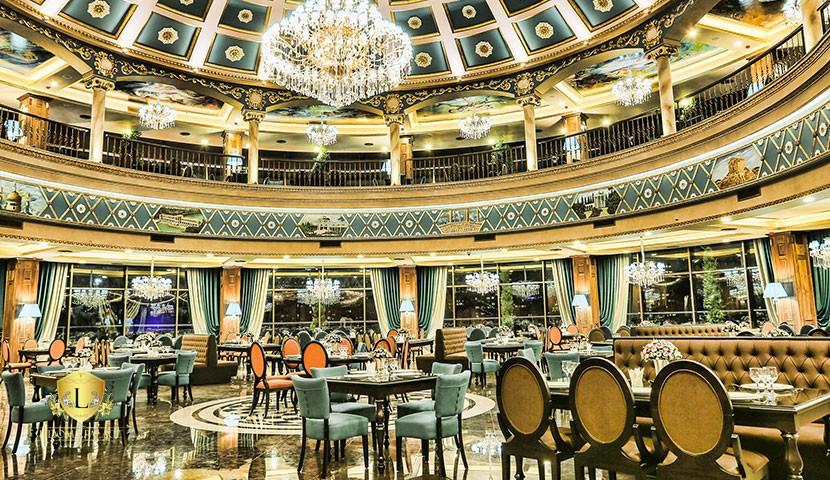 رستوران کاخ لیدوما