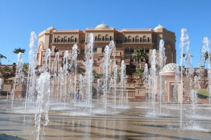 Emirates Palace Fountain