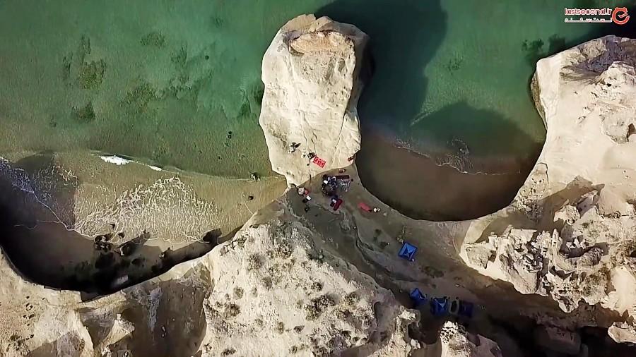 ساحل بنود عسلویه و غار آبی (قسمت 2)