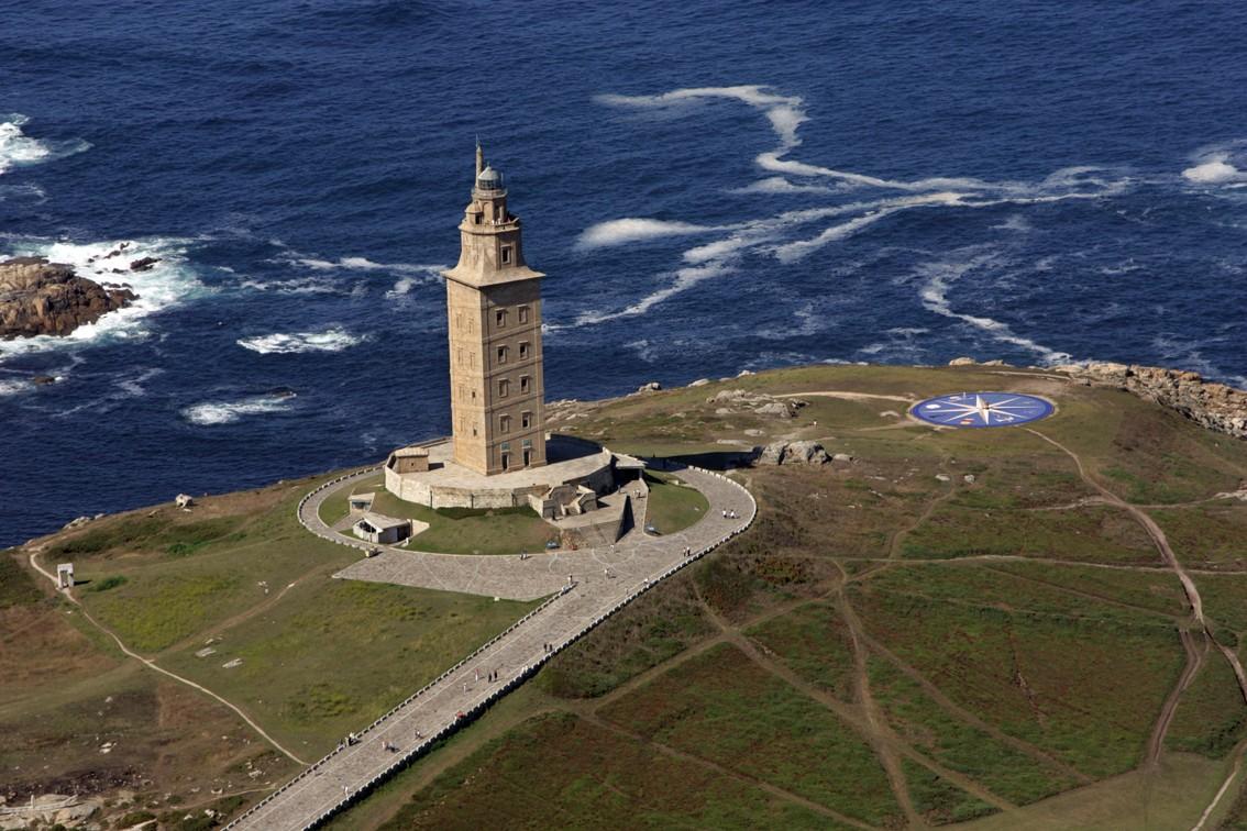 برج هرکول، قدیمی ترین فانوس دریایی جهان در اسپانیا