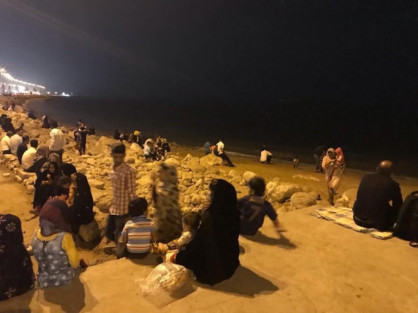 Old bazaar Bandar Abbas Beach