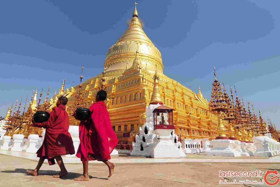 این سرزمین با طلای مقدس پوشانده شده است