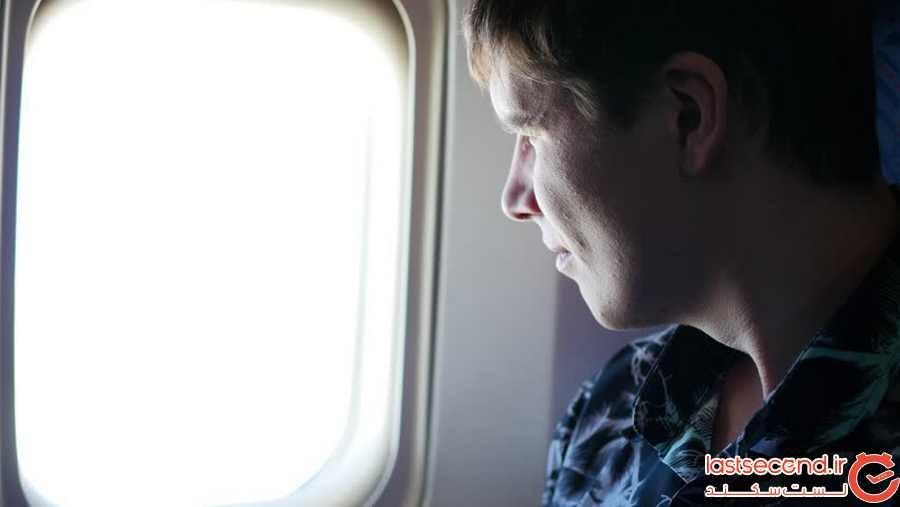 چرا داخل هواپیما باید کرم ضد آفتاب بزنیم؟