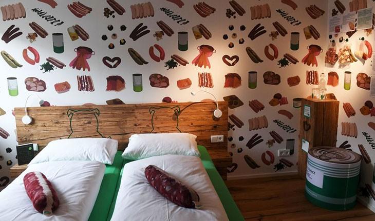 اقامتی لذیذ برای عاشقان سوسیس در هتلی آلمانی!