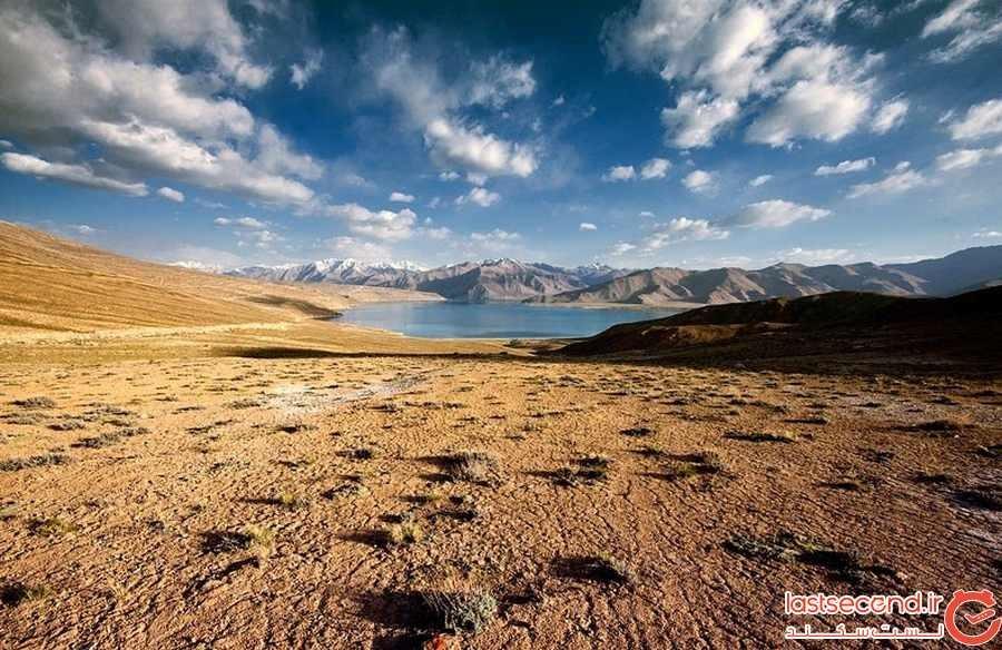 دریاچه کاراکول تاجیکستان