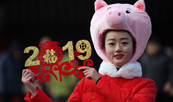 تصاویری از جشن سال نوی چینی در سال 2019