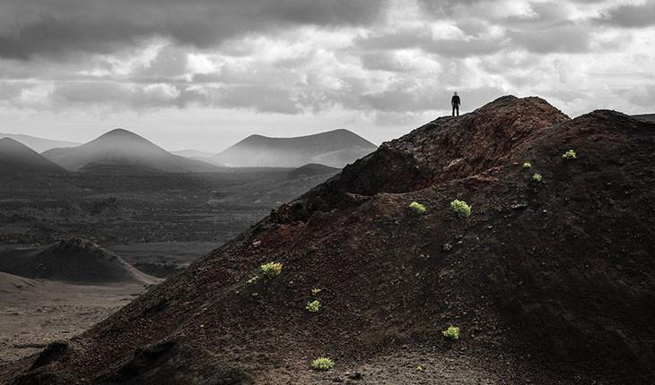 تصاویری از حقارت انسان در برابر طبیعت