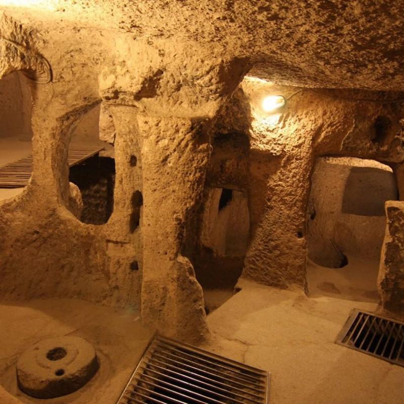 شهر زیرزمینی نوش آباد، یادگار عصر ساسانیان