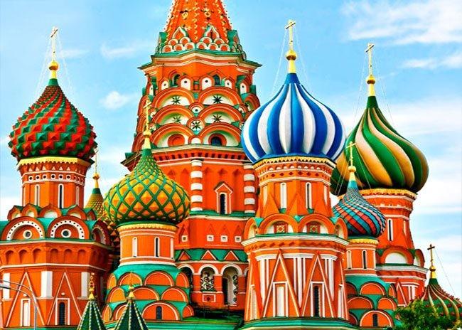 تور مسکو + سن پترزبورگ 8 فروردین 98
