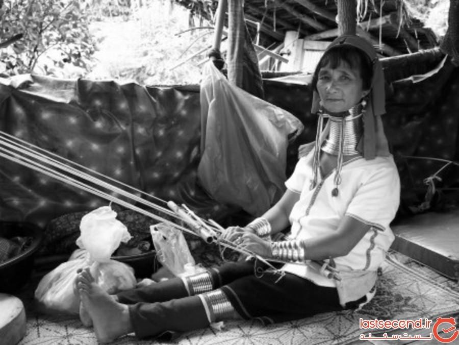 قوم کایان در تایلند
