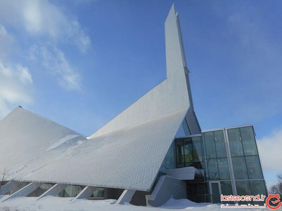 کتابخانهی مونیک کوریوو، کِبِک، کانادا