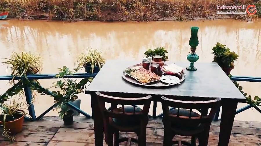 سیاه درویشان و رستوران چوبی ماه تی تی