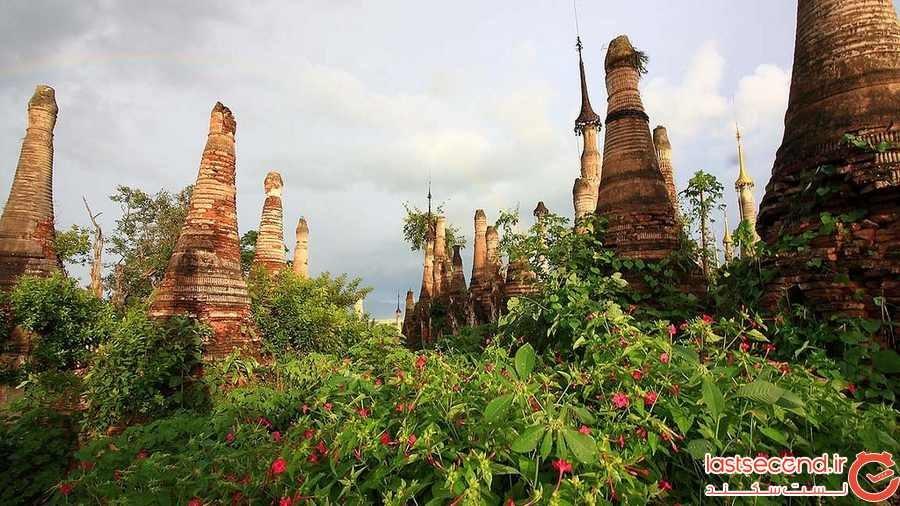 Nyaung Ohak ، روستای سورئال با معابد متروکه