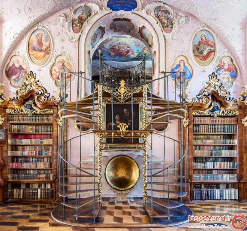 کتابخانهی وورا اَبی، اتریش