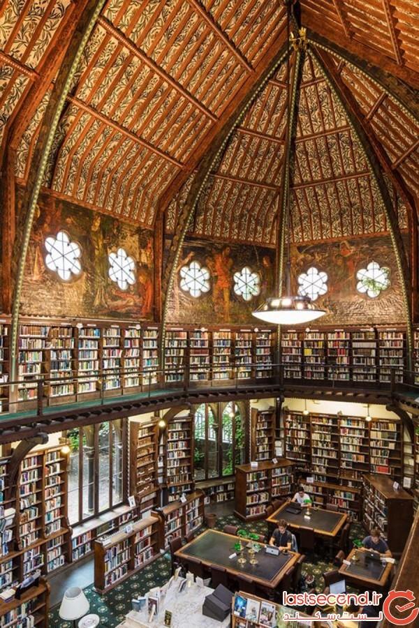 کتابخانهی انجمن آکسفورد، انگلستان