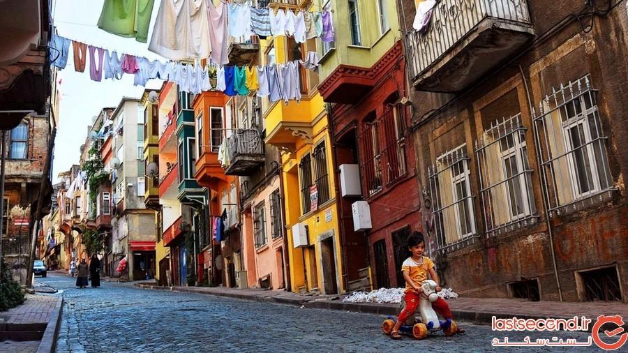 محله ی بالات استانبول