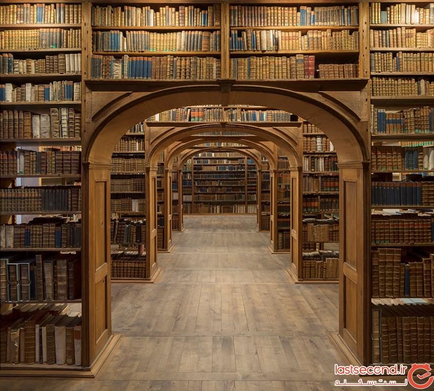 کتابخانهی علوم طبیعی اوپر لوستین، گرلیتز، آلمان