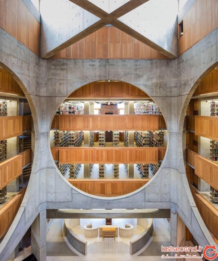 کتابخانهی آکادمی فیلیپس اِکسِتِر، نیو هَمپشایر، ایالات متحده