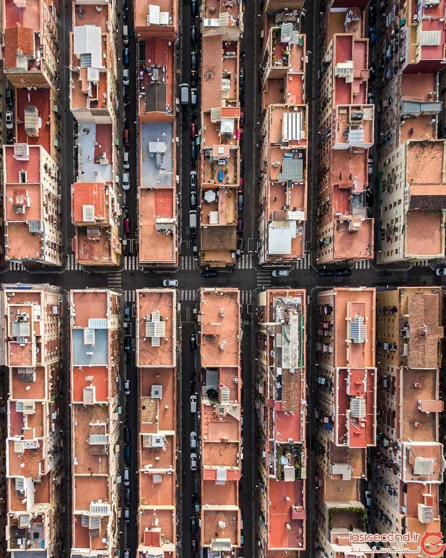 عکسهای هوایی از پایتخت کاتالونیا