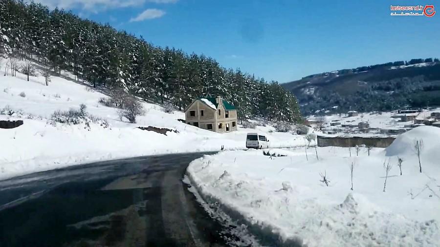 جاده برفی ارمنستان