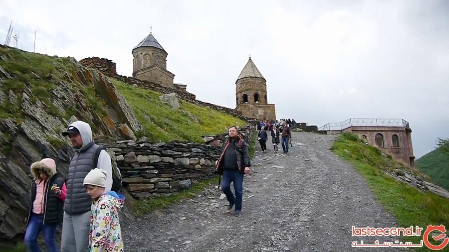 کازبگی، عروس کمتر شناخته شده گرجستان
