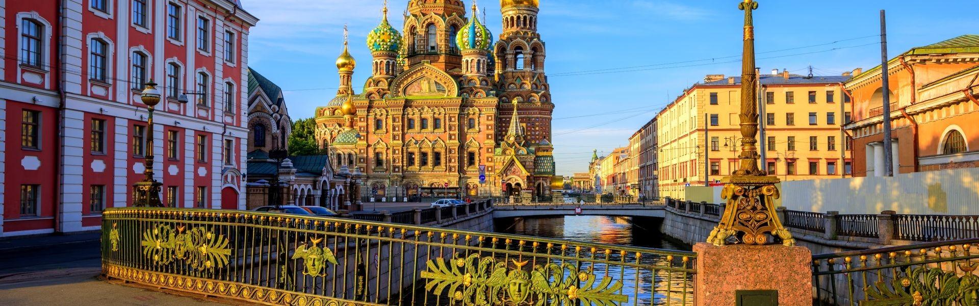 تور سن پترزبورگ + مسکو 17 خرداد 98 (شب های سفید)