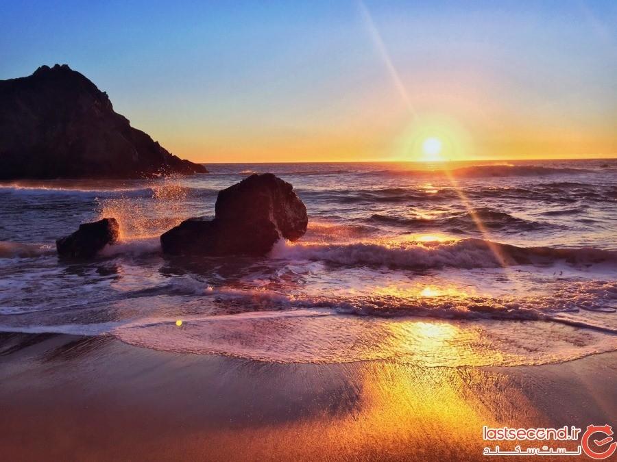 زیباترین و رنگارنگ ترین سواحل دنیا