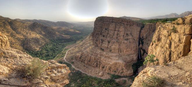 آبشار پیران (ریجاب)