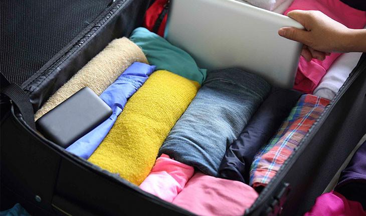 پنج مرحله برای بستن چمدانتان