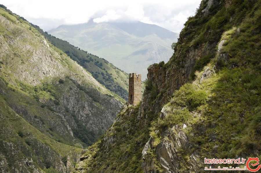 سرزمین برج های قفقازی: روستاهای بی نظیر که هر خانه یک قلعه بوده