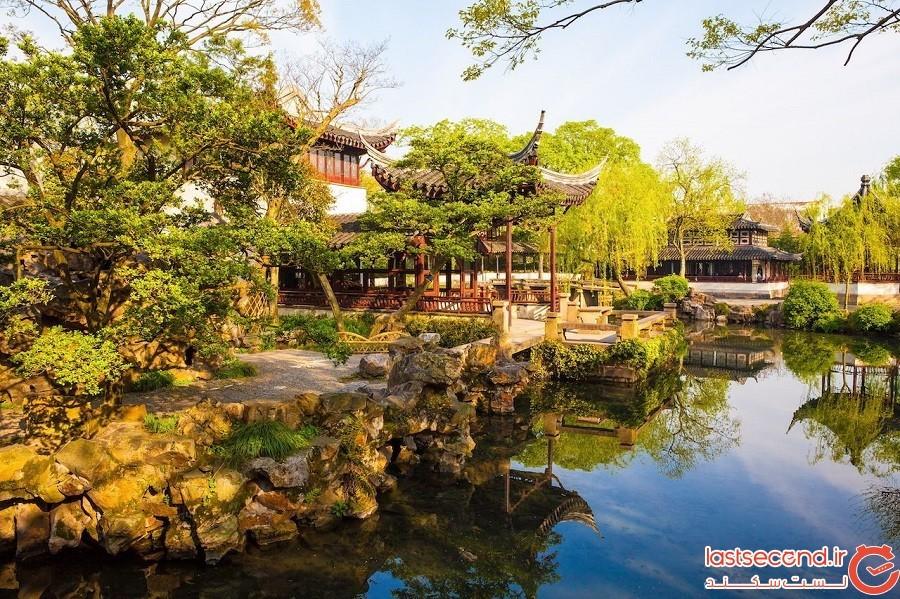 باغهای کلاسیک سوژو (Suzhou) – چین