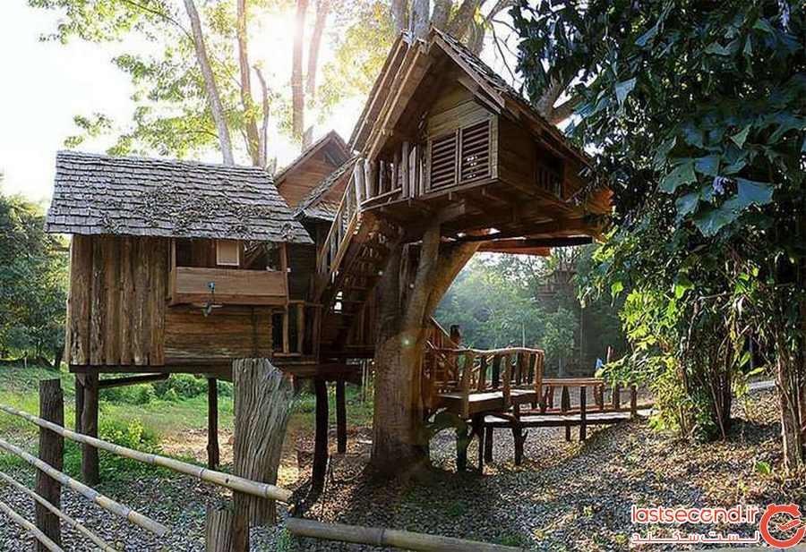اقامتگاه خانه درختی رابینگ پاساک (RABEANG PASAK TREEHOUSE RESORT)