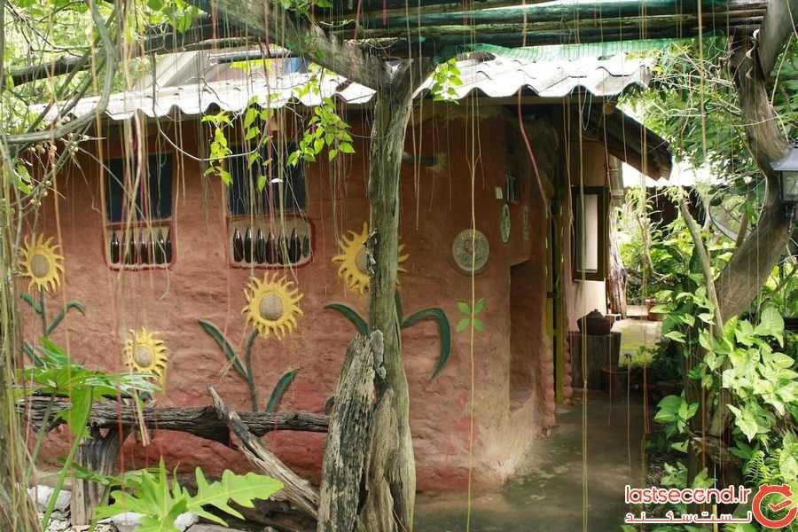 """""""خانه زمین"""" تایلند (EARTH HOME THAILAND)"""