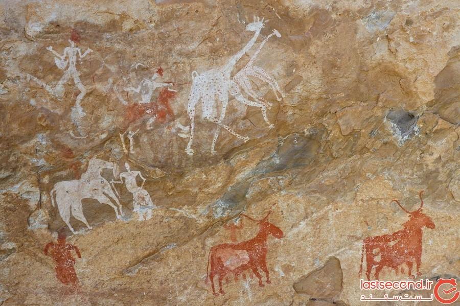 سایت هنرهای سنگی تادرات آکاکوس (Tadrat Acacus) – لیبی