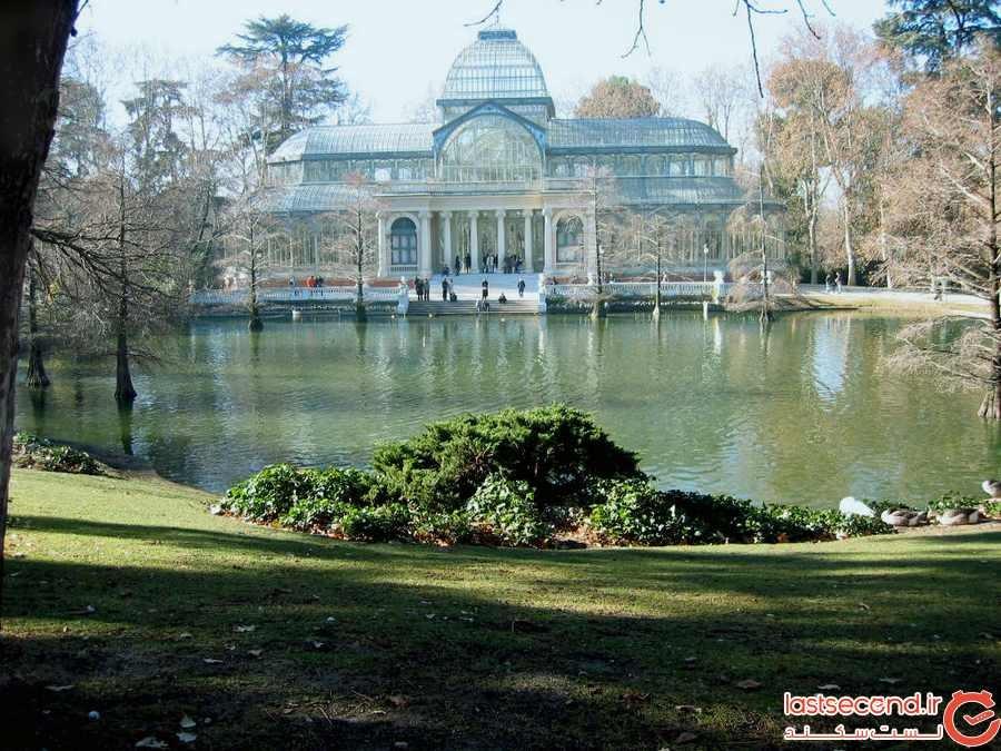کاخ کریستال، سازه شیشهای خیرهکننده در مادرید