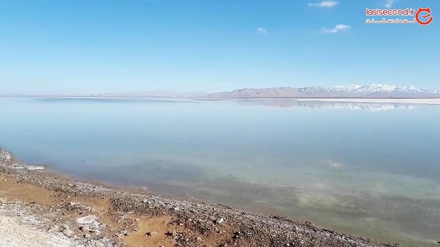 دریاچه نمک میقان اراک