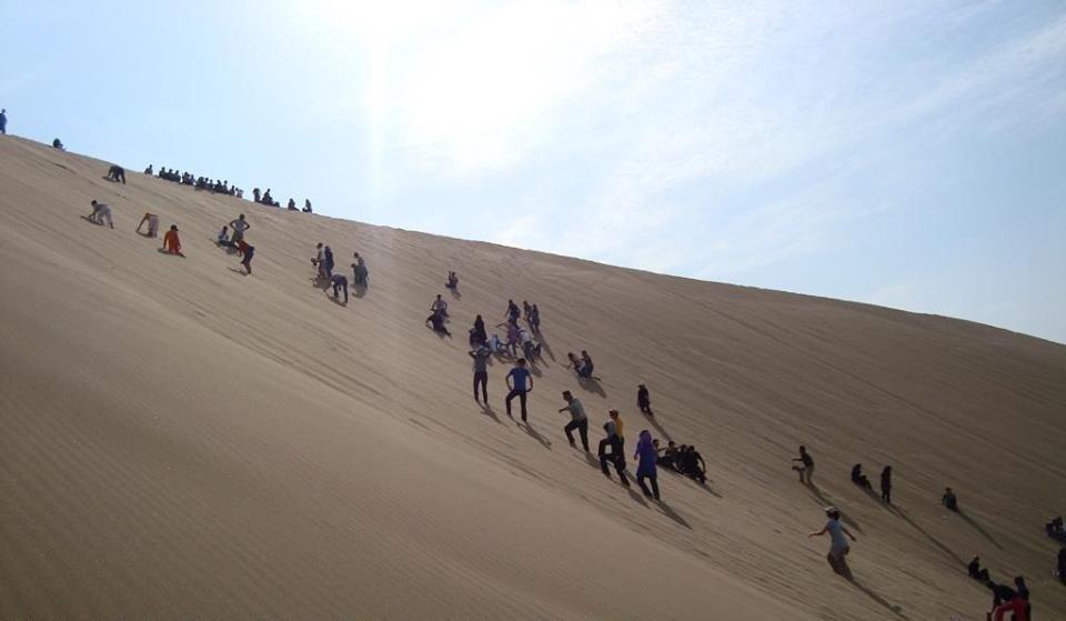تپه های ماسه ای (کویر مصر)
