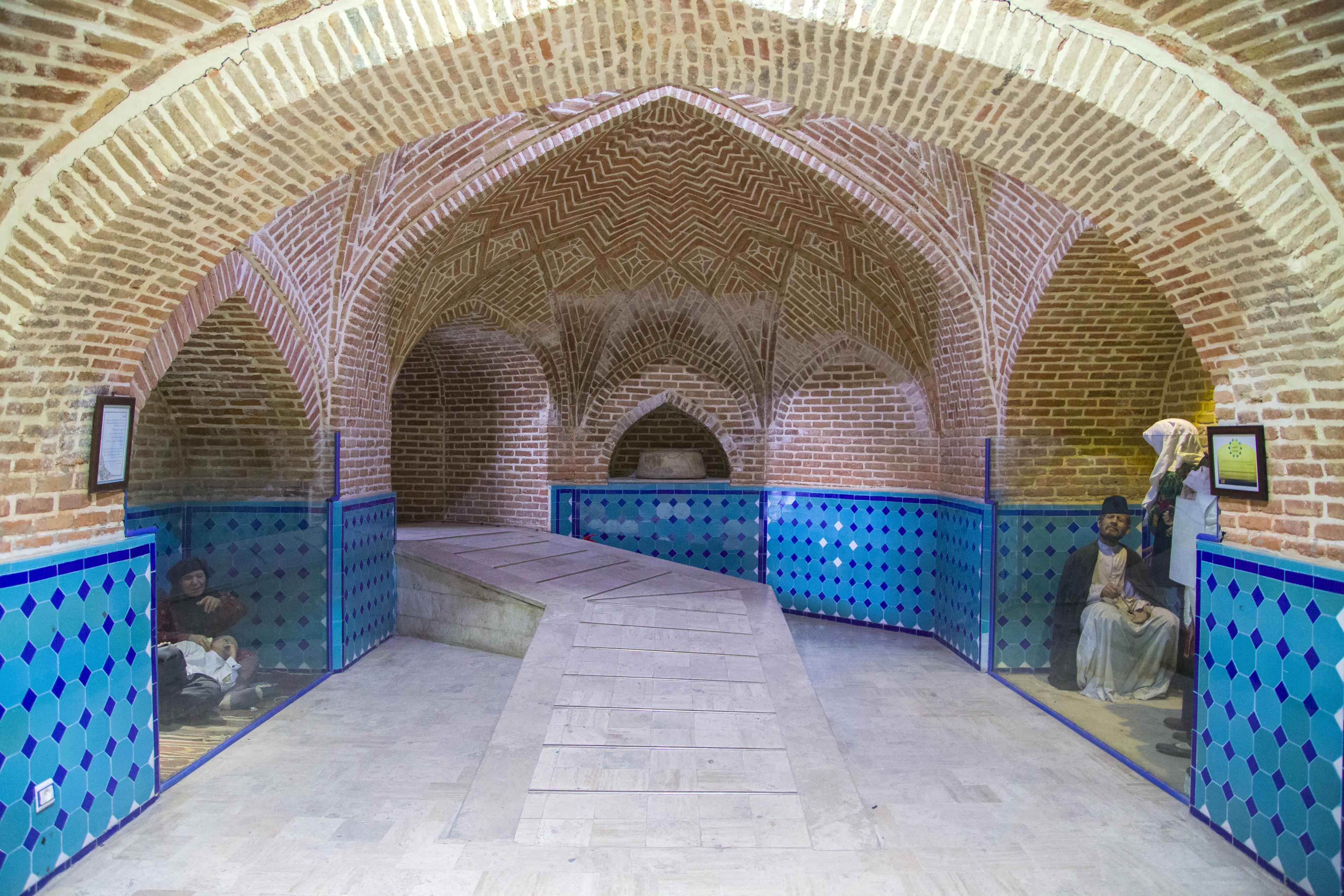 حمام قجر؛ موزهی مردم شناسی قزوین
