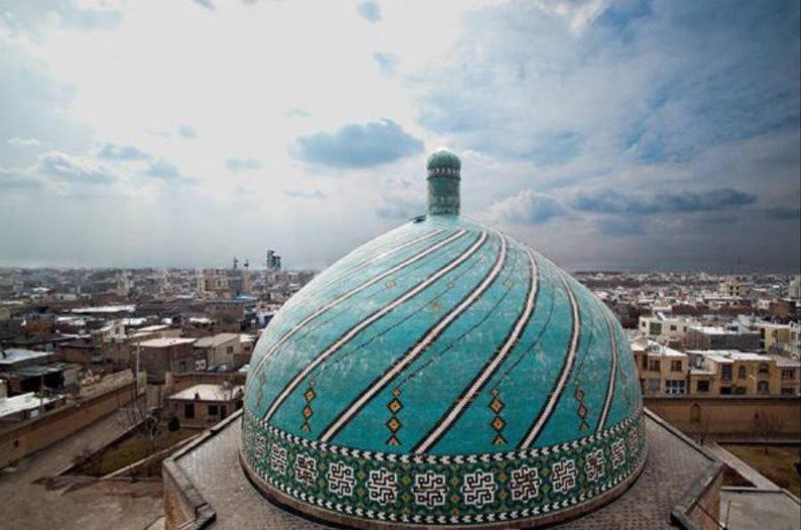 Jame- Mosque of- Qazvin.jpg