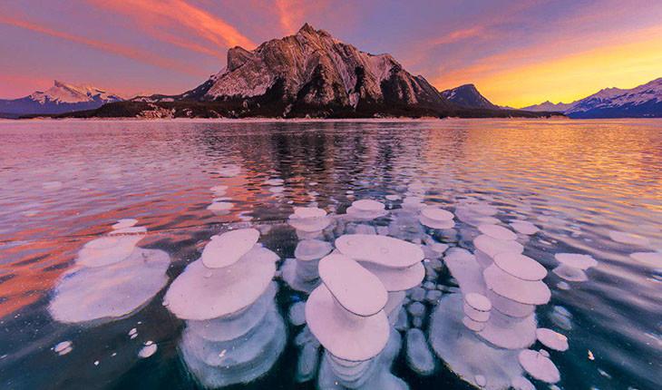 دریاچه آبراهام کانادا و شگفتی هایش