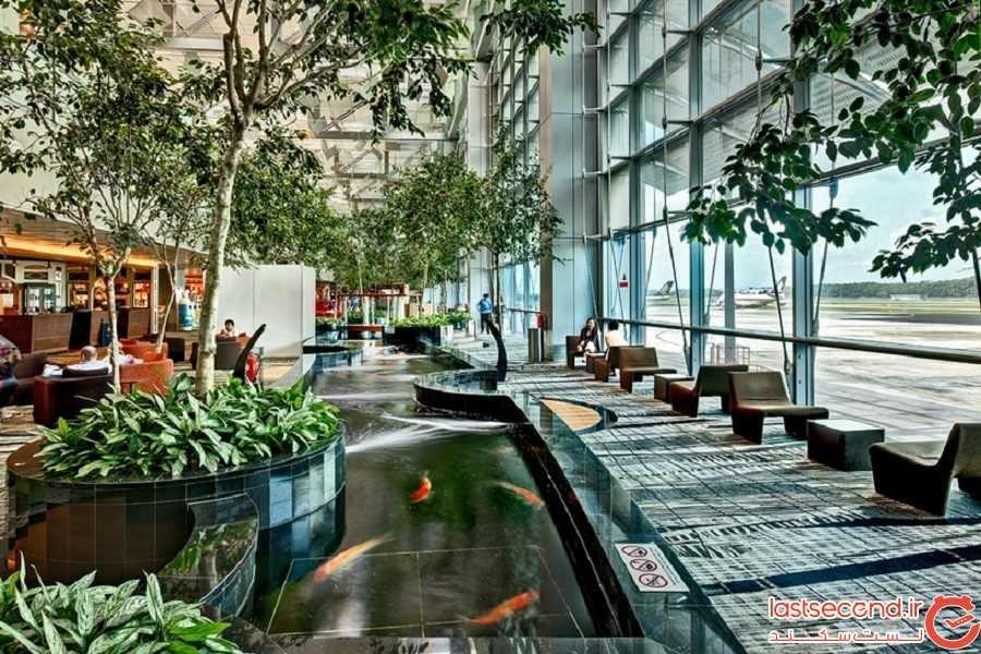 10- فرودگاه چانگی (Changi) سنگاپور