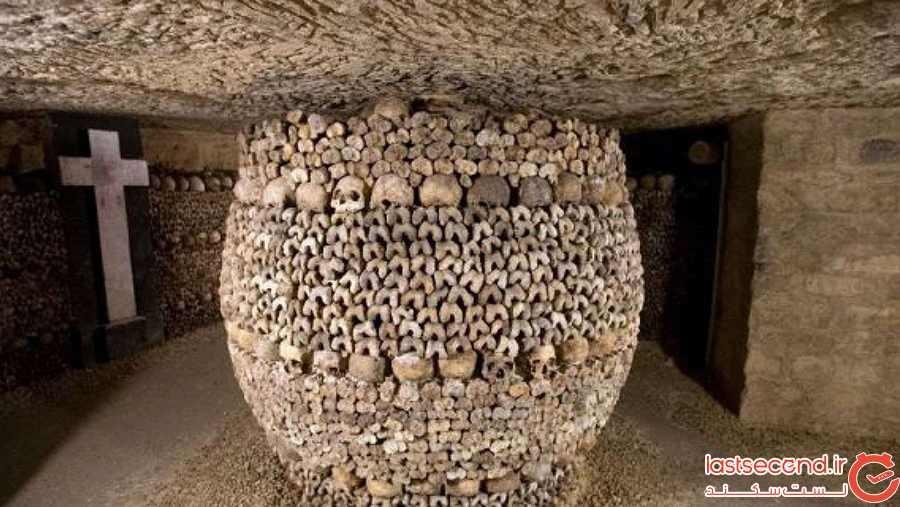 قبرهای دخمهای، پاریس، فرانسه