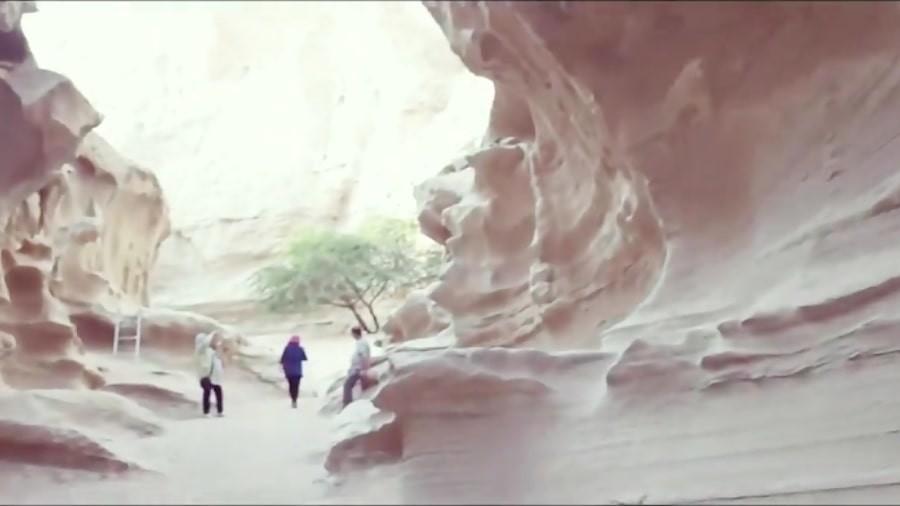 چاهکوه، منبع آب ساخته شده بدست طبیعت