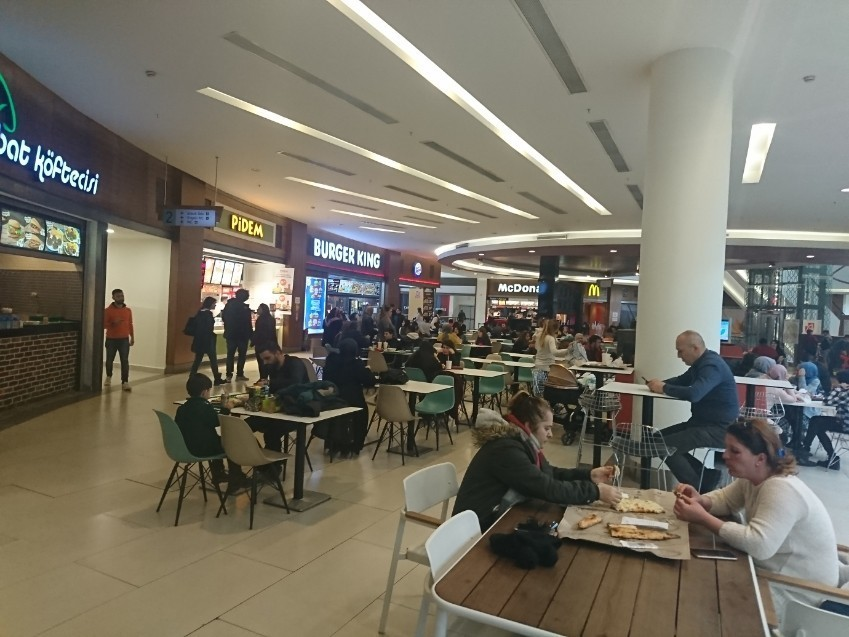 Erzurum Alisveris Merkezi Food Court