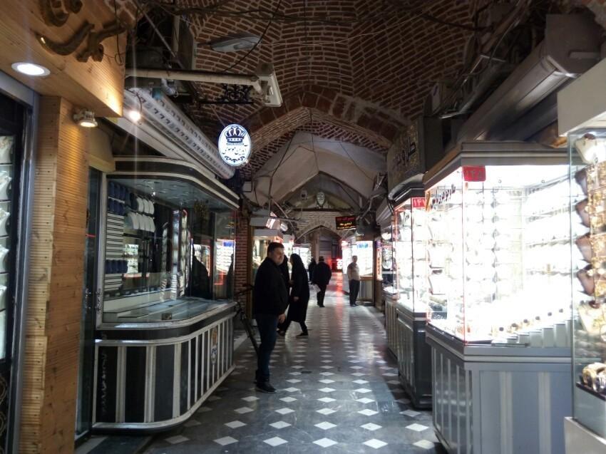 بازار طلافروشان اردبیل