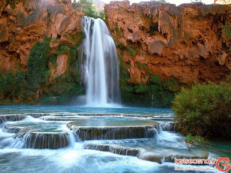 آبشار هاواسو در آریزونا