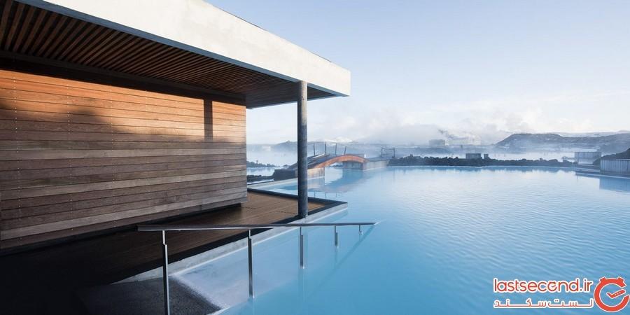 تالاب آبی در ایسلند