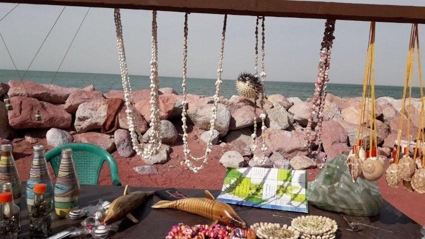Hormuz Beach Bazaar
